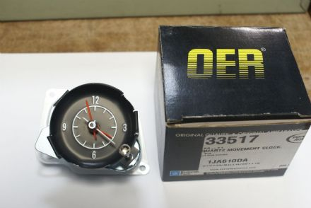 C3 Corvette,Quartz movement Clock,33517,New